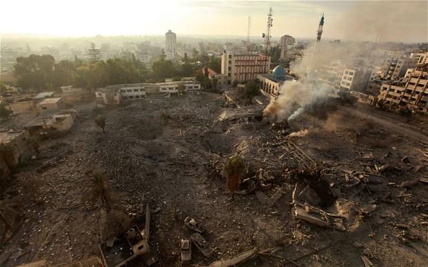 Israeli-air-strike-Gaza
