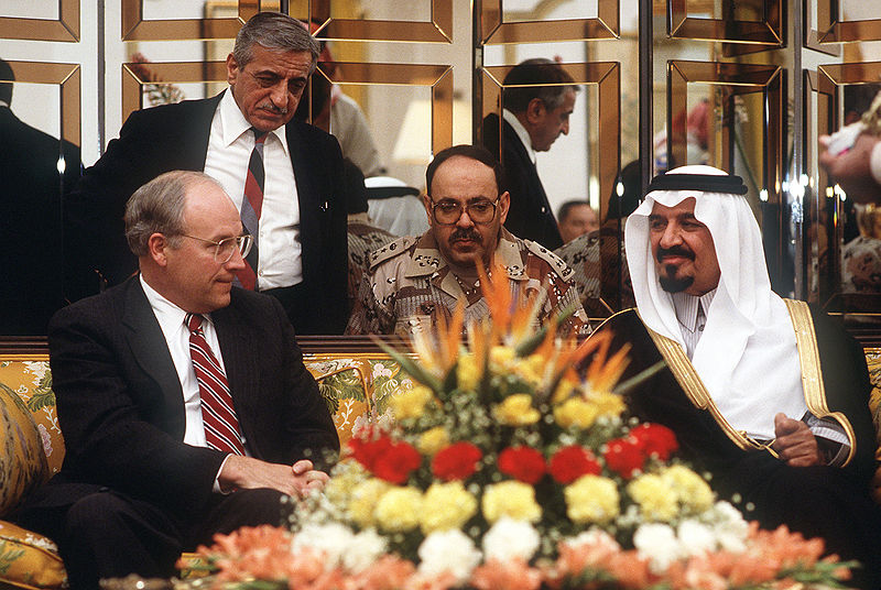 800px-Cheney_meeting_with_Prince_Sultan