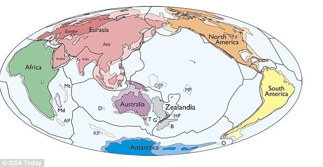 ozeanische platten liste