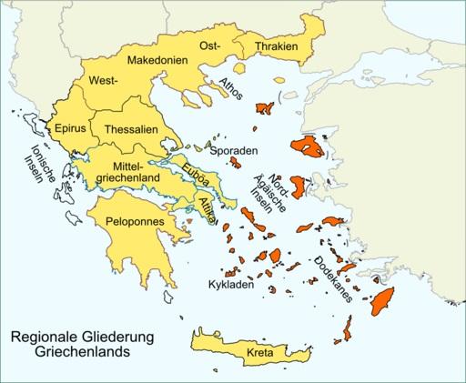 Griechenland Auf Griechisch